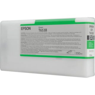 Epson T653B Green Ink Cartridge