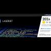 HP 202A standard yield Yellow toner CF502A