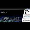 HP 202A standard yield black toner CF500A