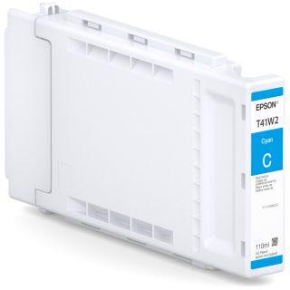 Epson T41W UltraChrome XD2 Cyan ink T41W220