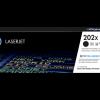 HP 202X High Yield Black Toner CF500X