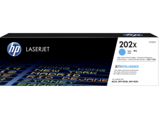 HP 202X High Yield Cyan Toner CF501X