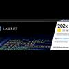 HP 202X High Yield Yellow Toner CF502X