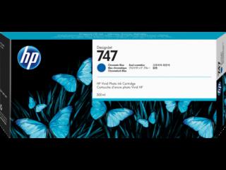 HP 746 300-ml Chromatic Blue DesignJet Ink Cartridge