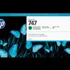 HP 746 300-ml Chromatic Green DesignJet Ink Cartridge