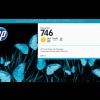 HP 746 300-ml Yellow DesignJet Ink Cartridge
