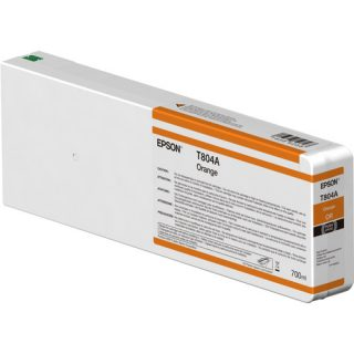 Epson T804A Orange Ink Cartridge